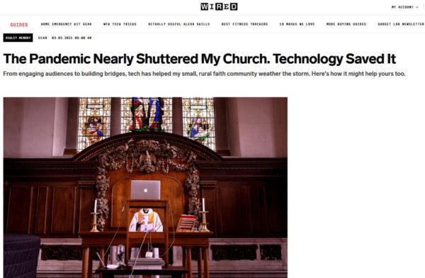 Tech at church